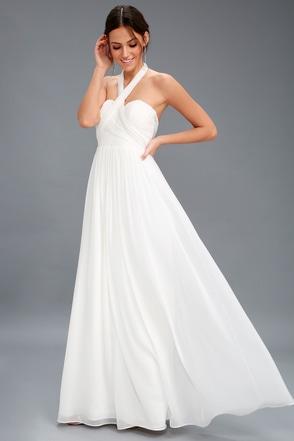 White lace long sleeve short dress