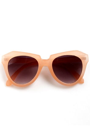 Rock Candy Peach Pastel Sunglasses