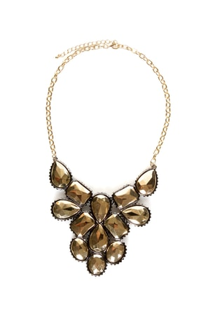 My Oh Midas Gold Statement Necklace