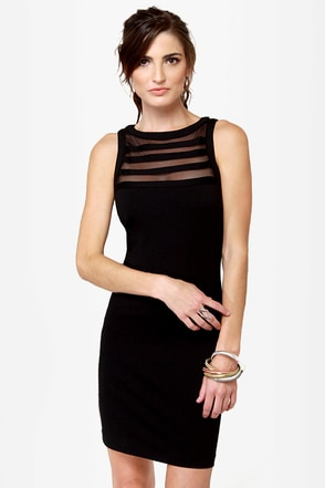 BB Dakota Sorina Cutout Black Dress