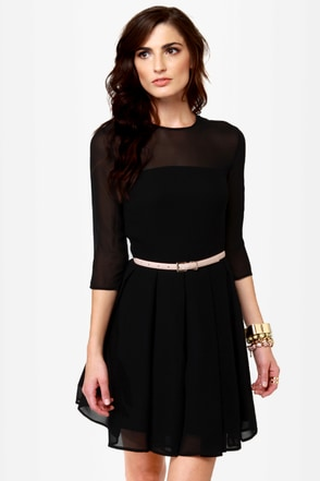 BB Dakota Rylan Black Dress