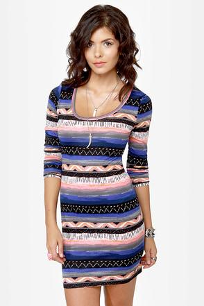 Hurley Casablanca Print Dress