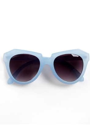 Rock Candy Blue Pastel Sunglasses