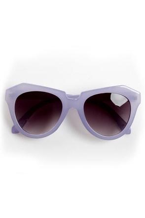 Rock Candy Purple Pastel Sunglasses