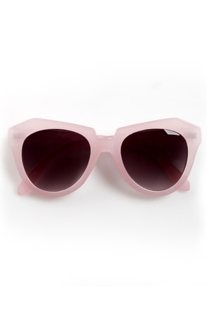 Rock Candy Pink Pastel Sunglasses