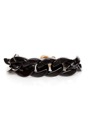 Always You Black Chain Bracelet