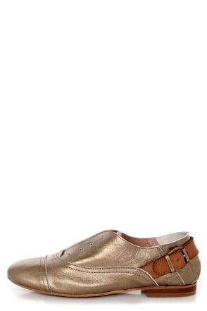 Sixtyseven Kristy Bronze Vachetta Leather Lace Less