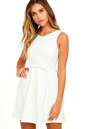 Hot Off the Precious Ivory Dress at Lulus.com!