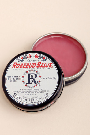 Smith's Rosebud Salve Tin