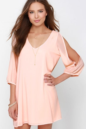 LULUS Exclusive Shifting Dears Black Long Sleeve Dress at Lulus.com!