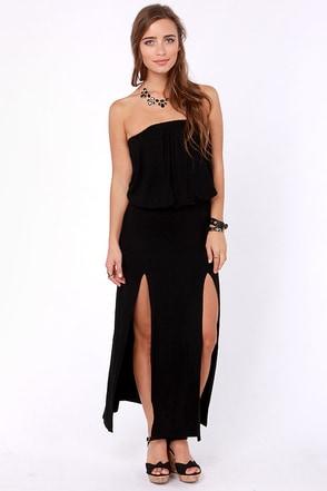 Black Strapless Maxi Dress on Sexy Strapless Dress   Black Dress   Maxi Dress    41 00