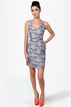 BB Dakota by Jack Carla Brocade Dress