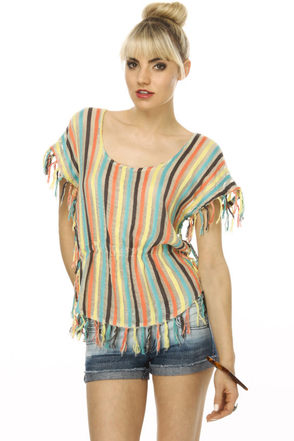 Billabong Freedom Striped Top