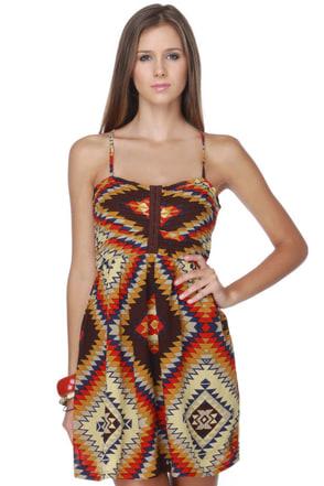 Billabong Davenport Print Dress
