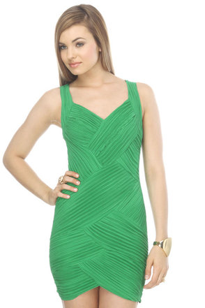 Luck o' the Irish Green Dress