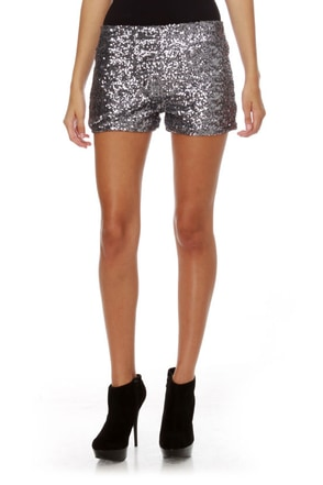 sassy sequin shorts   silver shorts   dance shorts   38 00