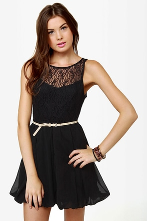 Collection Cute Black Dresses Juniors Pictures - Reikian