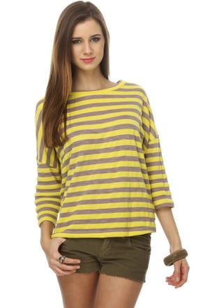 Bread and Butter Striped Top