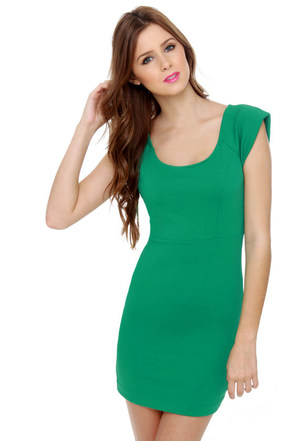 First Things First Green Dress