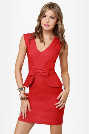 Chic to Chic Red Dress