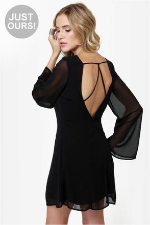 Back in a Flash Black Dress