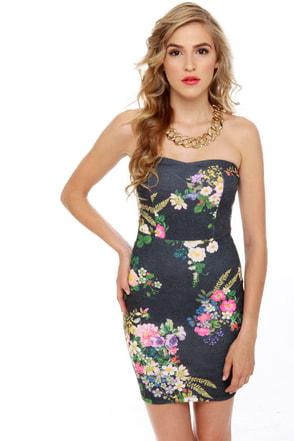 Wildflower Child Floral Print Dress