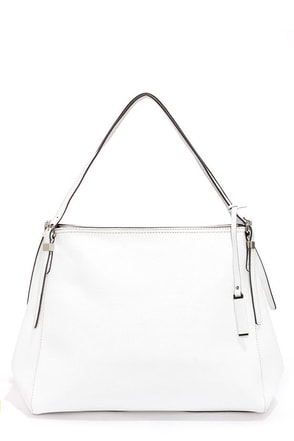 Clean Chic White Handbag