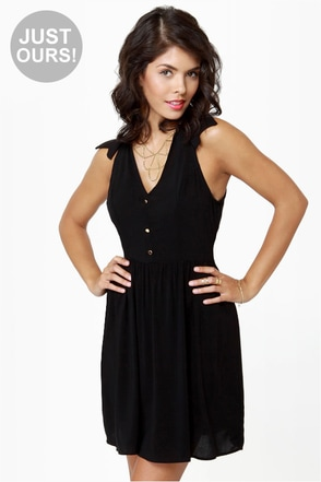 Sherwood Forest Black Dress