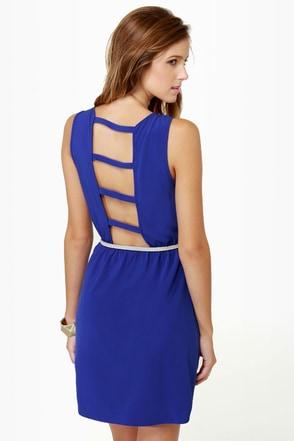 Bridge the Gap Royal Blue Dress