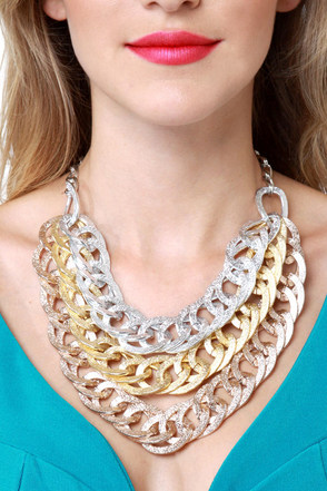 Three\\\\\\\\\\\\\\\'s Charming Chain Necklace