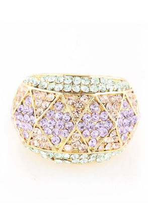 Lady Luxe Rhinestone Ring