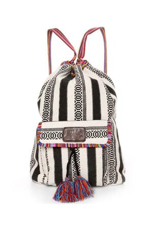 Billabong Caravan Tribal Striped Backpack