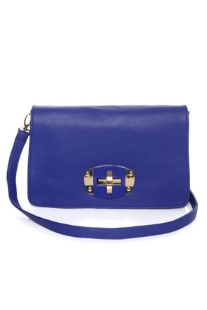 Main Squeeze Blue Purse
