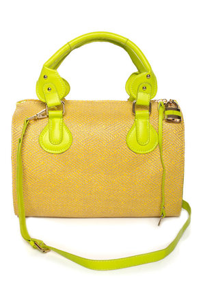 Guanabana Cocktail Color Block Purse