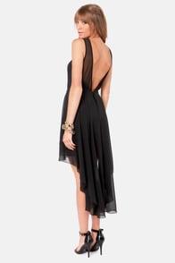 Ladakh Urban Angel Black Backless Dress at Lulus.com!