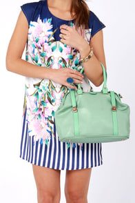Sweet Doc-er Mint Green Handbag at Lulus.com!