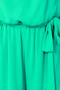 Twinkle Toes Strapless Sea Green Jumpsuit at Lulus.com!