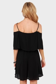 LULUS Exclusive Flow Your Own Way Black Dress at Lulus.com!