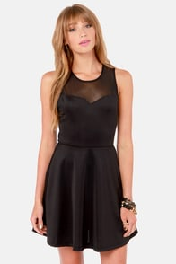 Go With the Bow Black Dress at Lulus.com!