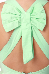Reverse Norma Jean Mint Green Peplum Top at Lulus.com!