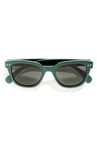 Dove Dark Teal Sunglasses at Lulus.com!
