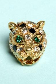 Nine Lives Cat Rhinestone Earrings at Lulus.com!