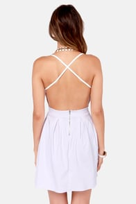 LULUS Exclusive Backyard Banquet Backless White Dress at Lulus.com!