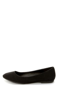 Dollhouse Yum Black Classic Ballet Flats at Lulus.com!
