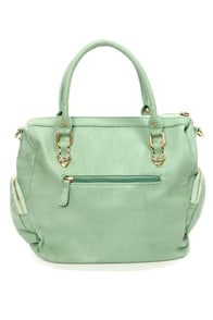 Holland Totes Sage Green Handbag at Lulus.com!