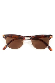 Soho Tortoise Sunglasses at Lulus.com!