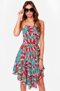 Twice as Spice Print Dress at Lulus.com!