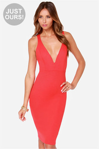 LULUS Exclusive Gracefully Yours Red Dress
