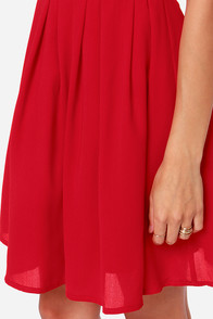 LULUS Exclusive Glad Night Sleeveless Red Dress at Lulus.com!