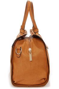 A Lot to Handle Tan Handbag at Lulus.com!